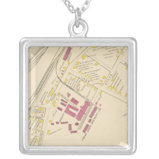 City of Portsmouth 4 Silver Plated Necklace