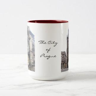 City of Prague mug