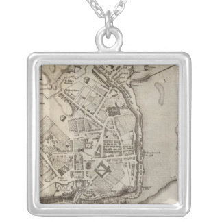 City of Quebec Silver Plated Necklace