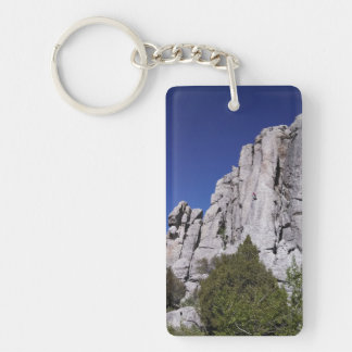 City of Rocks Climbing High Key Chain