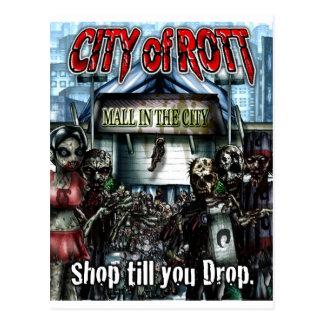 City of Rott Merchandise Postcard