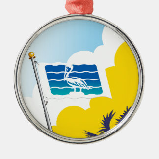 City of Saint Petersburg Florida Flag Christmas Ornament