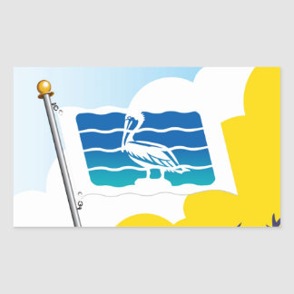 City of Saint Petersburg Florida Flag Stickers