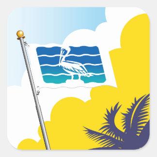 City of Saint Petersburg Florida Flag Sticker