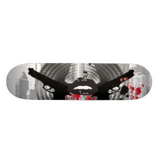 City of Sins Graphic Skateboard