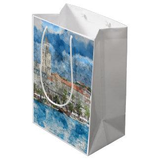 City of Split in Croatia Medium Gift Bag