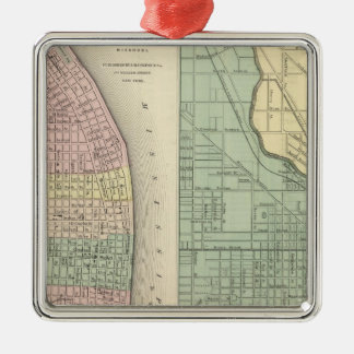 City of St Louis, Missouri City of Chicago Christmas Ornament