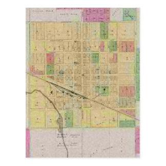 City of Sterling, Rice County, Kansas Postcard