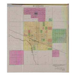 City of Sterling, Rice County, Kansas Poster