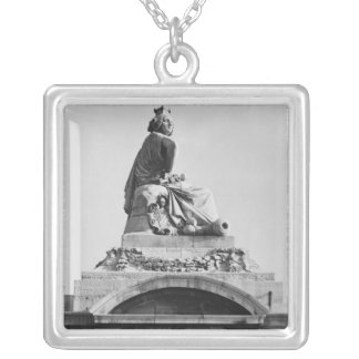 City of Strasbourg Silver Plated Necklace
