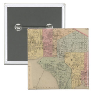 City of Washington 15 Cm Square Badge