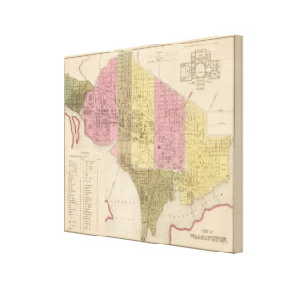 City of Washington 2 Canvas Print