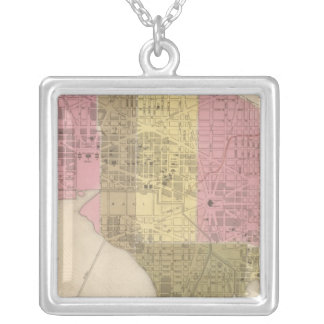 City of Washington Silver Plated Necklace