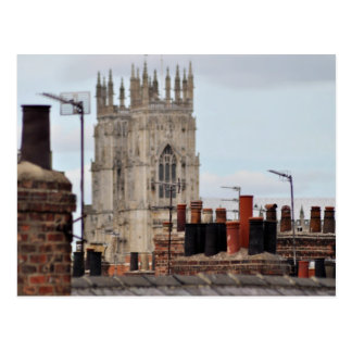 City of York Chimney Pots Postcard
