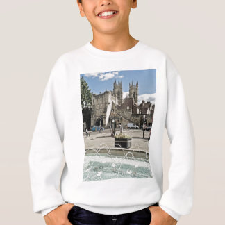 City of York Exhibition Square with the minster Sweatshirt
