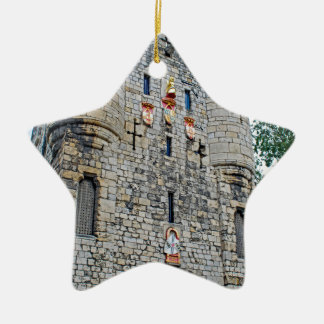 City of York Micklegate Bar Ceramic Star Decoration