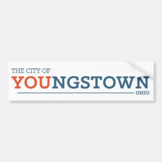 City of You white Bumper Sticker