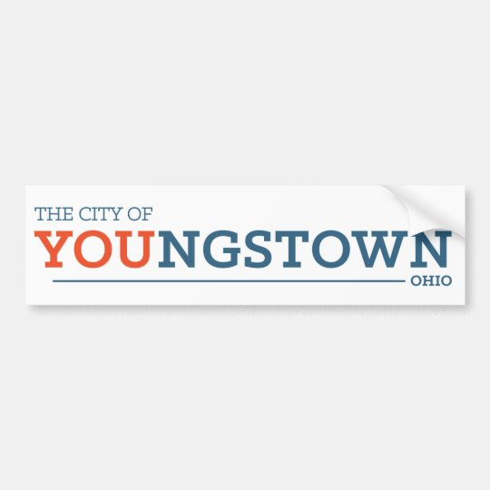 City of You white Bumper Sticker