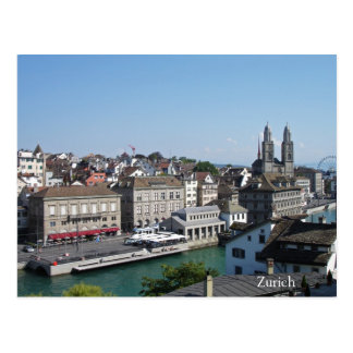 City of Zurich Postcard