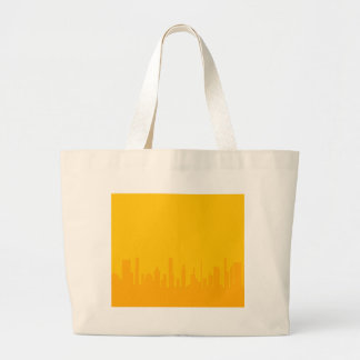 City Orangescape Large Tote Bag
