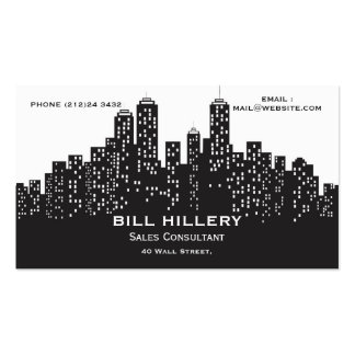 CITY PACK OF STANDARD BUSINESS CARDS