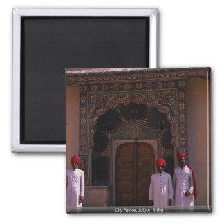 City Palace, Jaipur, India Square Magnet