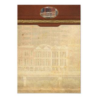 City - Pittsburg Pa - Fort Pitt Blvd 13 Cm X 18 Cm Invitation Card