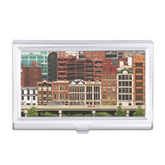 City - Pittsburg Pa - Fort Pitt Blvd Business Card Cases
