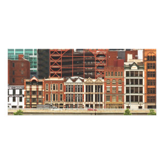 City - Pittsburg Pa - Fort Pitt Blvd Custom Rack Card