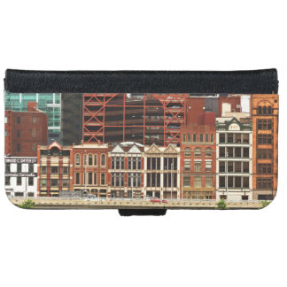City - Pittsburg Pa - Fort Pitt Blvd iPhone 6 Wallet Case
