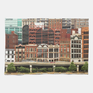 City - Pittsburg Pa - Fort Pitt Blvd Kitchen Towels