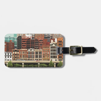 City - Pittsburg Pa - Fort Pitt Blvd Luggage Tag