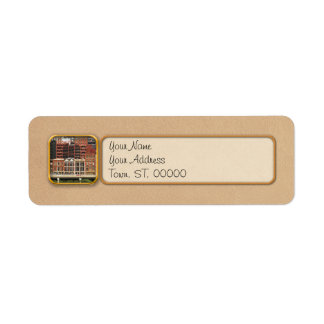 City - Pittsburg Pa - Fort Pitt Blvd Return Address Label