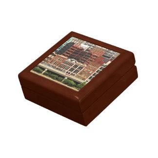 City - Pittsburg Pa - Fort Pitt Blvd Small Square Gift Box