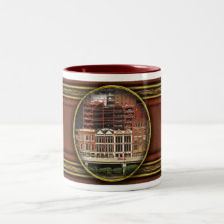 City - Pittsburg Pa - Fort Pitt Blvd Two-Tone Mug