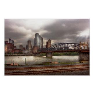 City - Pittsburgh, PA - Smithfield Bridge