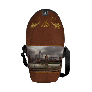 City - Pittsburgh, PA - Smithfield Bridge Courier Bags