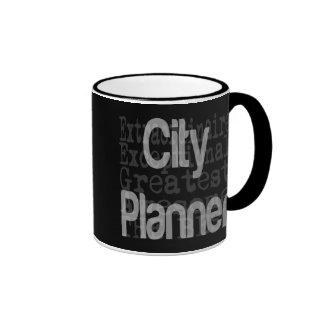City Planner Extraordinaire Ringer Mug