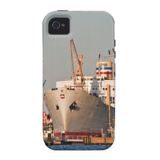 City port in Rostock (Germany) Case-Mate iPhone 4 Cover