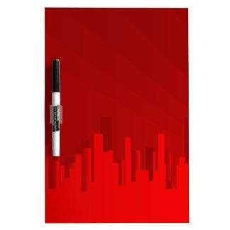 City Redscape Dry-Erase Boards