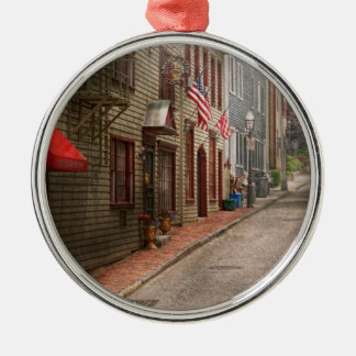 City - Rhode Island - Newport - Journey  Christmas Ornament