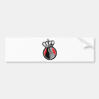 City Royalty Logo Car Bumper Sticker