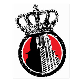 City Royalty Logo Post Cards