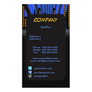 City Scapes Business Card