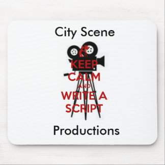 City Scene Productions Mouse Pad