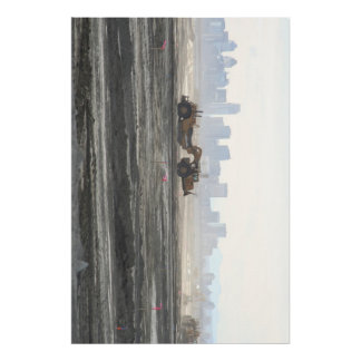 City Scraper Print