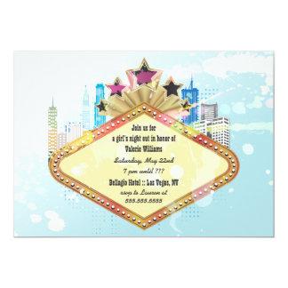 City Skyline Bachelorette Party Invitations
