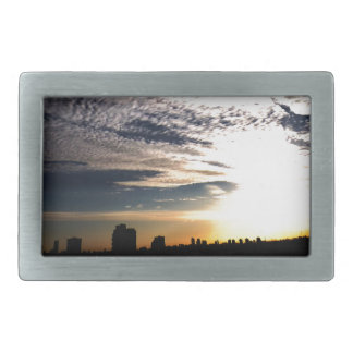 City Skyline Belt Buckles