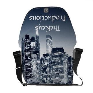 City Skyline Messenger Bag