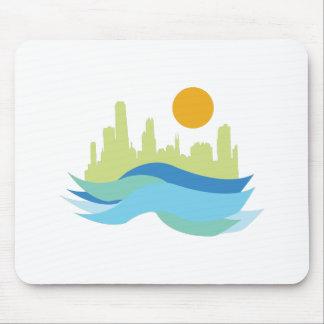 City Skyline Mousepad